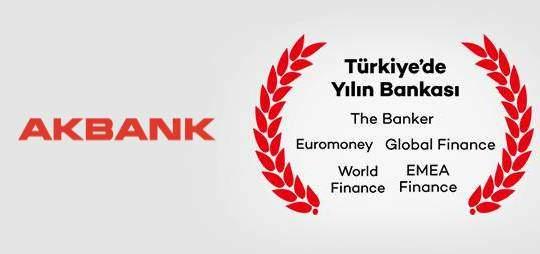 Yılın Bankası Akbank Oldu
