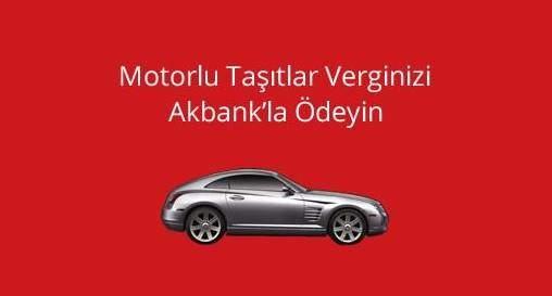 Akbank'tan MTV Ödemelerine 4 Taksit Fırsatı