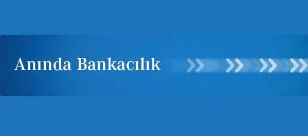 Anında Bankacılık Nedir?
