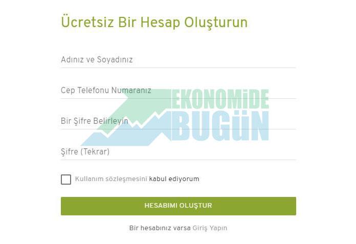 Bitcoin nasıl satın alınır veya satılır adım 1