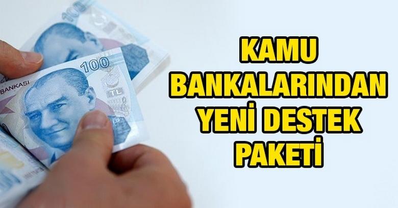 Kamu Bankaları KOBİ'ler İçin Yeni Destek Paketi